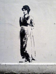 ::: Found :::  Mary Wollstonecraft – Newington Green, London [April 7, 2013]Artist: Stewy