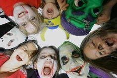 Third Grade Halloween School Party Games