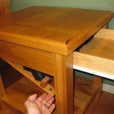 secret compartment in stair rail interior design pinterest
