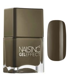This polish delivers plump, high-shine color without the need for a top or base coat. It also contains a flower extract that conditions and strengthen nails while you're wearing it. Simply apply two coats of polish onto clean, dry nails. Available in eight shades.