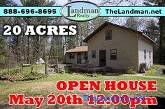https://thelandman.net/1830370.html - OPEN HOUSE - MAY 20TH AT 12:00pm NO OFFERS OR SHOWING UNTIL THEN!