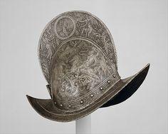 Comb Morion. ca.1560-1565. German, probably Brunswick.