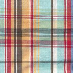 Madras Fabric By The Yard | Serena and Lily Madras Plaid Fabric By The Yard and Complete Your ...