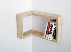 corner shelf 2 Creative and Practical: Corner Shelf by Martina Carpelan