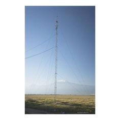 Customizable #Capital#Cities #Clear#Sky #Color#Image #Communication #Connection #Day #Grass #Kenya #Landscape #Majestic #Mountain #Mt#Kilimanjaro #Nairobi #Nature #No#People #Outdoors #Photography #Power#Cable #Remote #Repeater#Tower #Savannah #Tranquil#Scene #Vertical Mt. Kilimanjaro in background. Canvas Print available WorldWide on http://bit.ly/2hrq58z