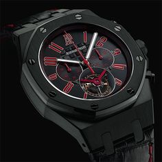 ____________________________________________ Visit us : http://bit.ly/1eWDVxQ _____________________________________________ Royal Oak Offshore Las Vegas Strip Tourbillon PVD steel. Ref: 26268SN Tag your photos with: #audemarspiguet_official #audemarspiguet #ap #audemars #piguet #experience #watch #ap_gallery #luxury #platinum #chronograph #tourbillon #exceptional #gold #offshore #quality #handmade #chrono #bezel #crystal #diamond #woman#tradition#horology #timepiece #gentleman #female…