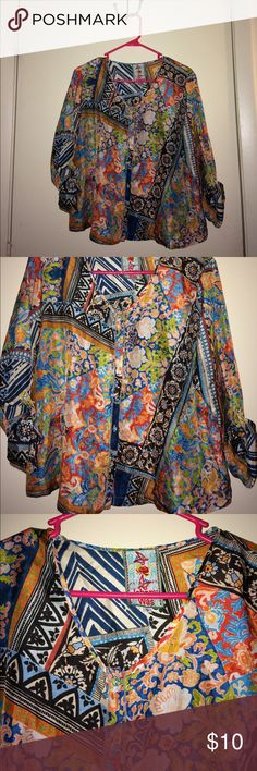 Johnny Was Blouse Size Small Johnny Was Blouse Size Small! Super beautiful and light! Amazing designs!!! Johnny Was Tops