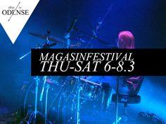 #Magasinfestival. Tre dage med 50 koncerter! #Magasinet #kulturmaskinen #odense #festival #ungdomsskole #concert. Oplev bl.a. #BOONDIGRASH! #mitodense #thisisodense Læs anbefalingen på: www.thisisodense.dk/7135/magasinfestival