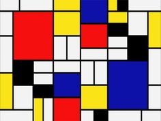 Piet Mondrian mejores pintores