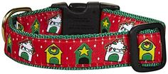 Up Country Christmas Dog House Collar - Medium *** Check out this great product.