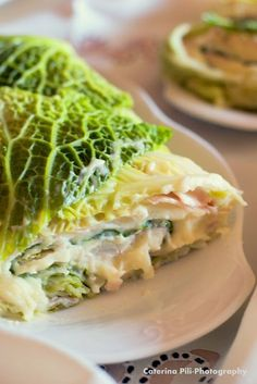 Soft meatloaf with cabbage, potatoes and ham - Polpettone soffice con verza ,patate e prosciutto Love Eat, I Love Food, Good Food, Yummy Food, Tasty, Baby Food Recipes, Wine Recipes, Healthy Recipes, Baby Food Vegetables