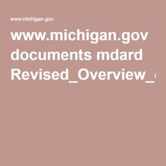 www.michigan.gov documents mdard Revised_Overview_of_Regulation_151_423836_7.pdf