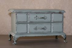 Adorable Shabby Chic Jewelry Box by 85SelbyLane on Etsy