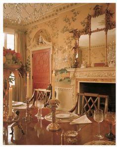 Ann Cox Chambers ... Chinoiserie style