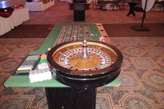 roulette table rental chicago