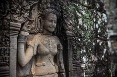 Angkor Wat Tempelkomplex in Kambodscha