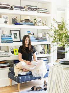 Michelle Adams gives us a personal tour of her charming and stylish Michigan home.