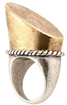 horse hoof cocktail ring #equestrian #jewelry