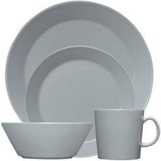 Iittala Teema Dinnerware in Pearl Grey - BedBathandBeyond.com