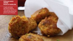 Sweet potato chickpea fritters