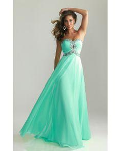 2014 Night Moves 6642 Aqua Prom Dress