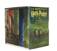 Harry Potter Hardcover Box Set (Books 1-6) by J. K. Rowling http://www.amazon.com/dp/0439827604/ref=cm_sw_r_pi_dp_u4HGub1ZRAMHR