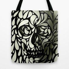 7514b88a742 Skull Tote Bag by Ali GULEC -  22.00 Skeletons, Skull Pillow, Skull Rug,