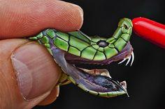 Imagem: Cobra Jameson's mamba (© Mattius Klum/National Geographic Creative)