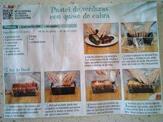 Sin Gluten, Ramen, Red Bell Peppers, Vegetables, Pastries, Recipes, Goat Cheese, Glutenfree, Gluten Free