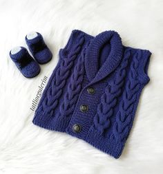 Hayran Kalacağınız 40 Bebek Yelek Hırka Örgü Modeli Baby Knitting, Sweaters, Clothes, Gardening, Board, Fashion, Templates, Knitting, Dots