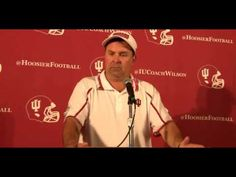 Watch and listen to what IU head football coach Kevin Wilson had to say following Indiana's 44-24 win over Penn State. #IUCollegeFootball