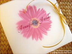 gerbera daisy wedding favors » pictures