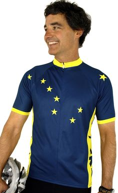 Alaska Gold Rush Short Sleeve Cycling Jersey Large Free Spirit