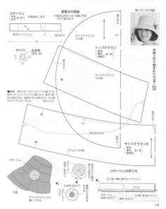 Modelist books: Lady Boutique 2015 - Diy And Home Modelista, Hat Stands, Creative Embroidery, Recycled T Shirts, Diy Hat, Japanese Books, Summer Hats, Girl With Hat, Hat Making
