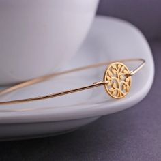 Or arbre de vie Bracelet bijoux de l'arbre par georgiedesigns