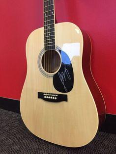 Luke Bryan Autographed Kona Guitar