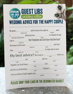Will be doing this for our wedding