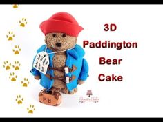 How to make a Paddington Bear Cake from Creative Cakes by Sharon Ours Paddington, Paddington Bear Party, Cake Pops, Sewing Stuffed Animals, Cupcakes, Fondant Tutorial, Bear Cakes, Children's Literature, Love Sewing