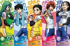 """Crunchyroll - Lawson to Launch Collaboration Campaign with """"Yowamushi Pedal"""""""