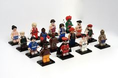 The characters from gaming classic Street Fighter II have been given a Lego makeover - unoffical as of now...