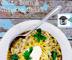 Pressure Cooker Recipes: Mild White Bean and Chicken Chili Baby to Boomer Lifestyle, Jennifer Wood Fitness : Pressure Cooker Verde White Be.