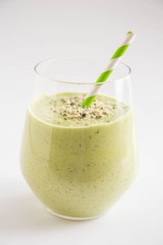The Green Machine Protein Shake Serves 1  Protein Source: Greek yogurt Protein Boosters: Almond butter + hemp hearts  This thick, subtly sweet shake just might be the most delicious way to drink your greens.  Combine 3/4 coconut milk, 1/3 cup Greek yogurt, 1/2 heaping cup of spinach, 1/2 avocado, 1 tablespoon almond butter, 1 tablespoon hemp hearts, and 1 tablespoon agave in a blender, then process until smooth. Top with an extra sprinkle of hemp hearts for serving.