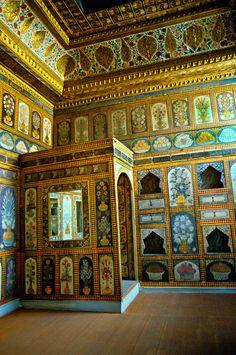 The Fruit Room, Topkapi Palace (Topkapi Sarayi), Istanbul, Turkey Islamic Architecture, Art And Architecture, Turkey Pics, Turkey History, Blue Mosque, Turkish Art, Hagia Sophia, Turkey Travel, Ottoman Empire