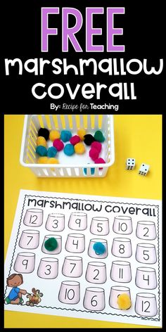 Students add two dice together and cover that number on their board! Kindergarten Math Activities, Number Activities, Camping Activities, Kindergarten Special Education, Math Education, Summer School Themes, Theme Forest, Summer Camps For Kids, Camping Theme