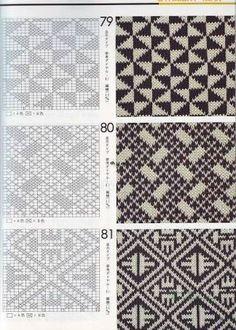 "Photo from album ""Книга узоров"" on Yandex. Knitting Charts, Knitting Stitches, Knitting Patterns, Modern Crochet, Crochet Home, Crochet Chart, Filet Crochet, Tapestry Crochet Patterns, Fair Isle Knitting"