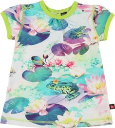 Molo Kids Frog Prince Baby Dress - Cathleen
