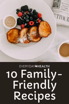 Crowd-pleasing, nutritious breakfast and brunch options for the moms in your life. Healthy Food To Lose Weight, Healthy Food List, Easy Healthy Recipes, Healthy Snacks, Healthy Brunch, Nutritious Breakfast, Best French Toast, Tasty Pancakes, Recipe Creator