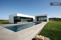 A modernist country villa  in Almoster, Portugal.
