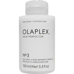 Olaplex Hair Perfector - 100 ml - Fantastisk hårkur til lyst hår! Home Remedies For Hair, Hair Remedies, Peach Hair Colors, Die Revolution, Bleached Hair, Biotin, Shiny Hair, Damaged Hair, Platinum Blonde