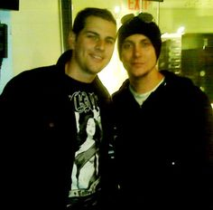 M Shadows and Synyster Gates ~ Avenged Sevenfold